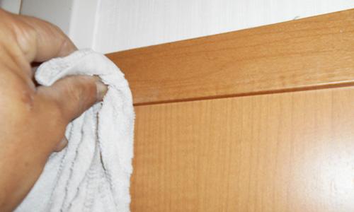 藤枝市 老人介護施設トイレ清掃 壁