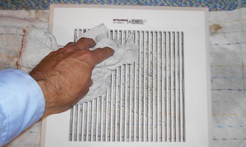 藤枝市 老人介護施設トイレ清掃 換気扇