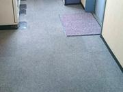 廊下タイルカーペット清掃