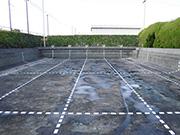 浜松市内施設内プールの洗浄