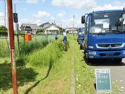 浜松市内 工場敷地の除草作業(年間一括管理)